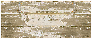 "Home Accents FoFlor 2'1"" x 5' Barnboard Accent Runner, , large"
