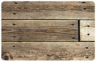 """Home Accents FoFlor 2'1"""" x 5' Rustic Wood Accent Runner, , large"""