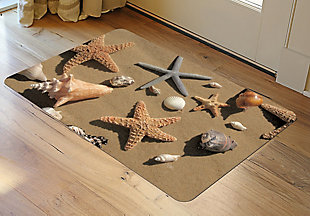 "Home Accents FoFlor 1'11"" x 3' Beachcomber Accent Mat, , rollover"
