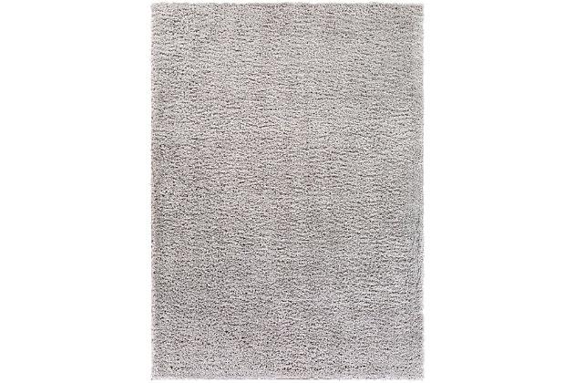 "Surya 5'3"" x 7'3"" Area Rug, Medium Gray, large"
