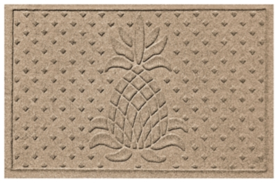 "Home Accents Aqua Shield 1'11"" x 3' Diamond Pineapple Ind..."