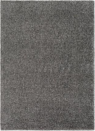 "Modern 5'3"" x 7'3"" Area Rug, Charcoal, large"