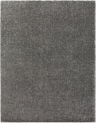 """Modern 7'10"""" x 10'3"""" Area Rug, Charcoal, rollover"""