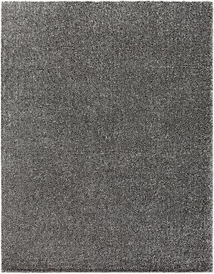 "Modern 7'10"" x 10'3"" Area Rug, Charcoal, large"
