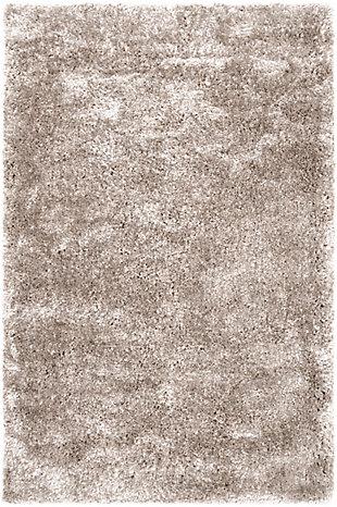 World Needle 5' x 8' Area Rug, Light Gray, large