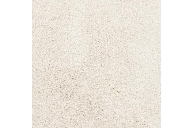 "Modern 2'3"" x 8' Area Rug, White, large"