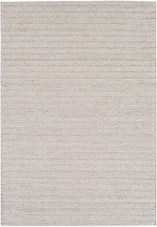 """Surya 5' x 7'6"""" Area Rug, Light Gray, large"""