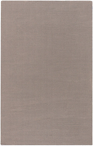 "Surya 7'6"" x 9'6"" Area Rug, Taupe, rollover"