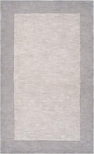 "Surya 3'3"" x 5'3"" Area Rug, Taupe/Medium Gray, rollover"