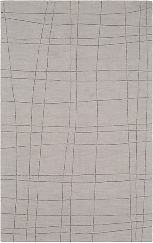 "Surya 3'3"" x 5'3"" Area Rug, Light Gray, rollover"
