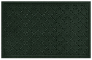 "Home Accents Aqua Shield 1'11"" x 2'11"" Cordova Indoor/Outdoor Doormat, Green, large"