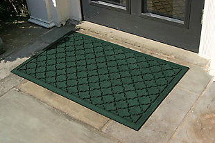 "Home Accents Aqua Shield 1'11"" x 2'11"" Cordova Indoor/Outdoor Doormat, Green, rollover"