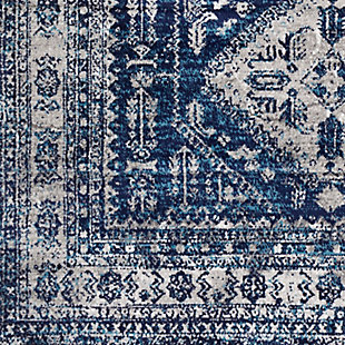 "Surya 7'10"" x 10'2"" Area Rug, Charcoal/Gray/White, large"