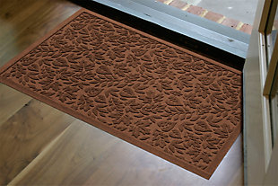 "Home Accents Aqua Shield 1'11"" x 3' Fall Day Indoor/Outdoor Doormat, Brown, rollover"
