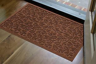 "Home Accents Aqua Shield 1'11"" x 3' Fall Day Indoor/Outdoor Doormat, Brown, rollover"