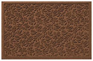 "Home Accents Aqua Shield 1'11"" x 3' Fall Day Indoor/Outdoor Doormat, Brown, large"