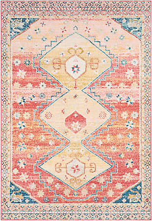 "Traditional Area Rug 5'3"" x 7'3"" Rug, Multi, large"