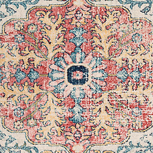 "Traditional Area Rug 7'10"" x 10' Rug, Multi, large"