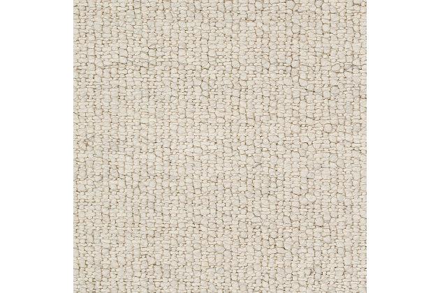 "World Needle 5' x 7'6"" Rug, Cream/Charcoal, large"