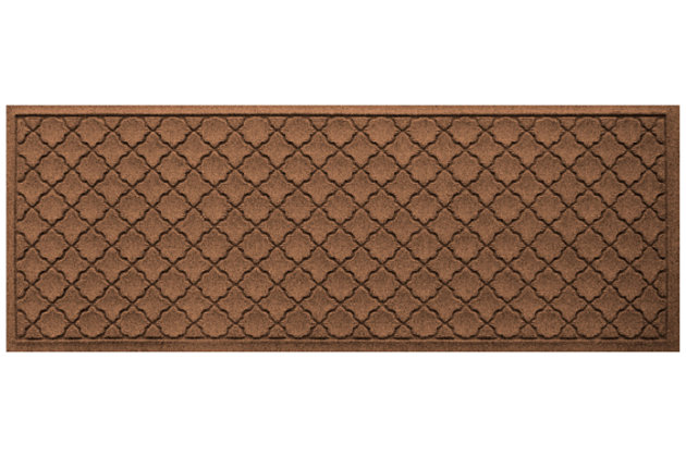 "Home Accents Aqua Shield 1'10"" x 4'11"" Cordova Runner, Brown, large"