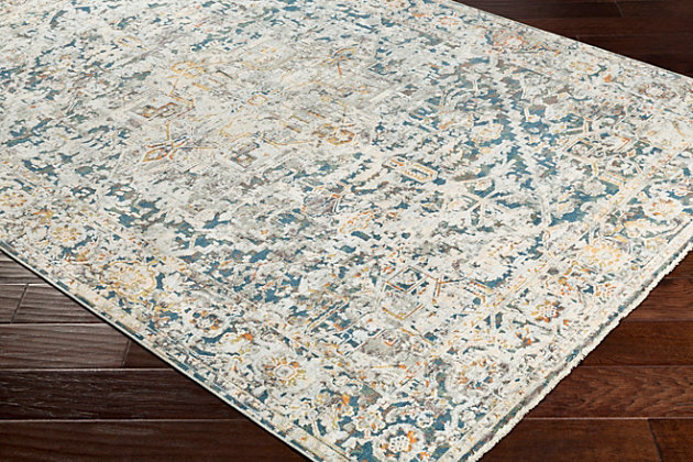 """Traditional Area Rug Traditional 5' x 8'2"""" Rug, Multi, large"""