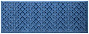 "Home Accents Aqua Shield 1'10"" x 4'11"" Cordova Runner, Blue, large"