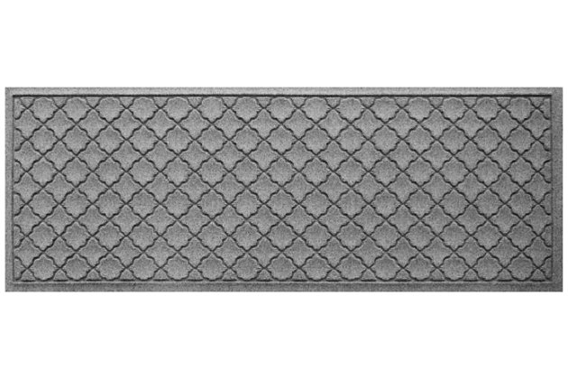 "Home Accents Aqua Shield 1'10"" x 4'11"" Cordova Runner, Gray, large"