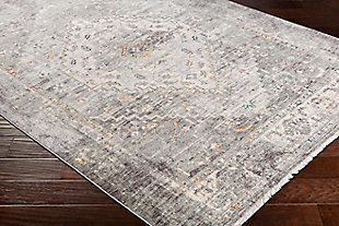 """Traditional Area Rug Traditional 5' x 8'2"""" Rug, Multi, rollover"""