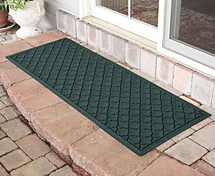 "Home Accents Aqua Shield 1'10"" x 4'11"" Cordova Runner, Green, rollover"