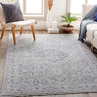 """Traditional Area Rug 5' x 8'2"""" Rug, Multi, rollover"""