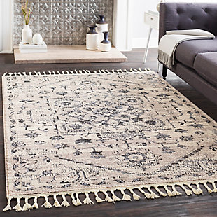 """Traditional Area Rug 5' x 7'3"""" Rug, Multi, rollover"""
