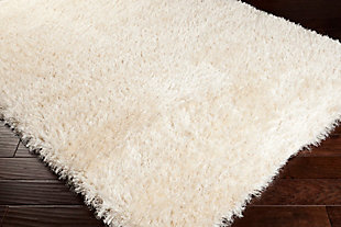"Modern Area Rug 5'3"" x 7'7"" Rug, Cream, large"