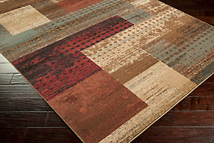 "Modern Area Rug 5'3"" x 7'7"" Rug, Multi, large"