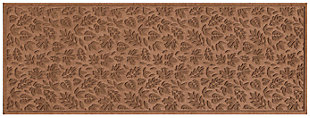"Home Accents Aqua Shield 1'10"" x 4'11"" Fall Day Runner, Brown, large"
