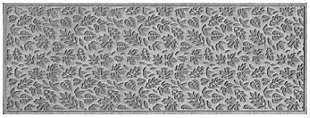 "Home Accents Aqua Shield 1'10"" x 4'11"" Fall Day Runner, Gray, large"