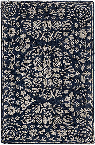 Traditional Area Rug 2' x 3' Rug, Multi, large