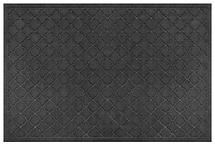 "Home Accents Aqua Shield 34"" x 52"" Cordova Estate Mat, Gray, large"