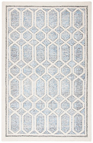 Safavieh Artistry 5' X 8' Area Rug, Ivory/Blue, large