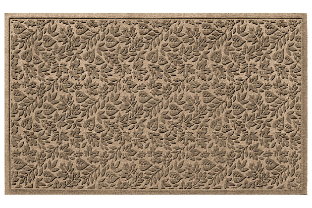 "Home Accents Aqua Shield 32"" x 57"" Fall Day Estate Mat, Beige, large"