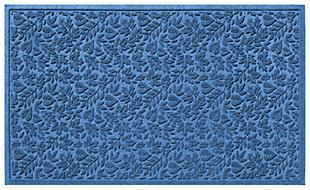 "Home Accents Aqua Shield 32"" x 57"" Fall Day Estate Mat, Blue, large"