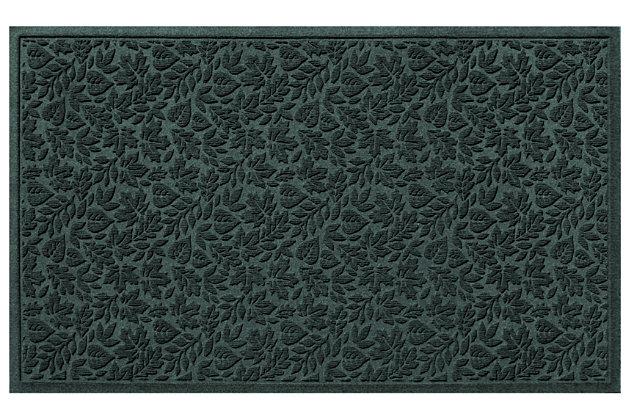 "Home Accents Aqua Shield 32"" x 57"" Fall Day Estate Mat, Green, large"