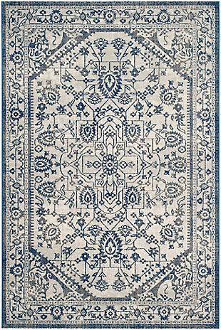 "Safavieh Artisan 5'1"" X 7'6"" Area Rug, Silver/Blue, large"