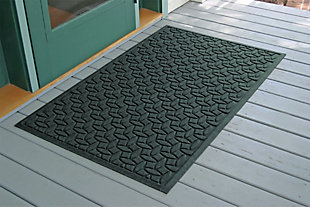 Home Accents Aqua Shield 3' x 5' Ellipse Estate Mat, Green, rollover