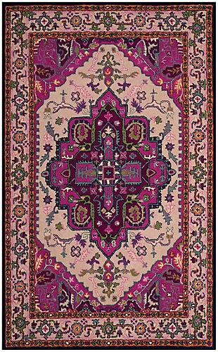 Safavieh Bellagio 5' X 8' Area Rug, Ivory/Pink, large