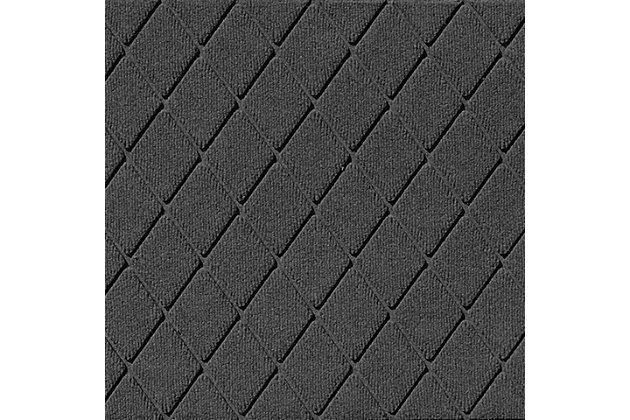 Home Accents Aqua Shield Argyle Indoor/Outdoor Doormat, , large