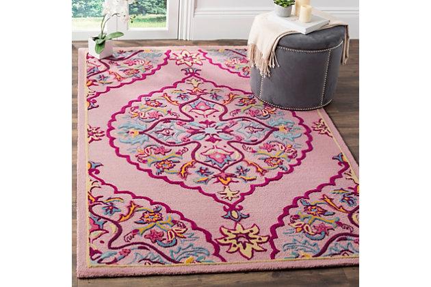 Safavieh Bellagio 5' X 8' Area Rug, Pink/Multi, large