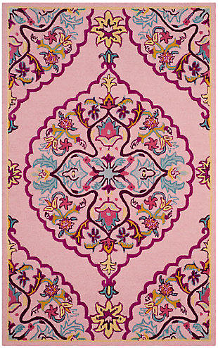 Safavieh Bellagio 5' X 8' Area Rug, Pink/Multi, large