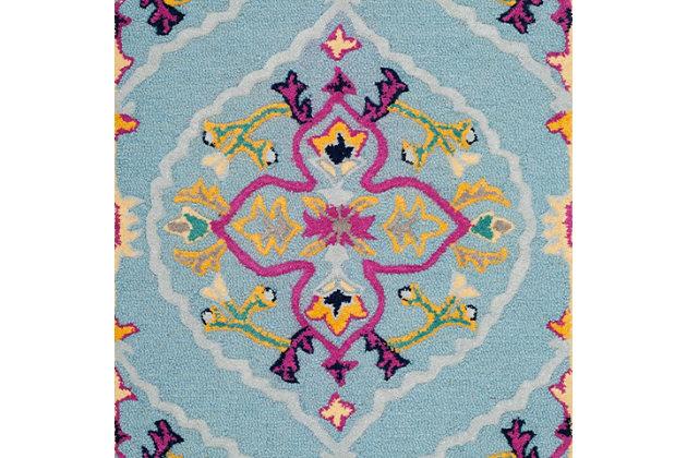 Safavieh Bellagio 2' X 3' Accent Rug, Light Blue/Multi, large