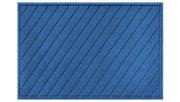 Home Accents Aqua Shield 3' x 5' Argyle Estate Mat, Blue, large