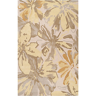 Home Accents Athena Floral 5' x 8' Area Rug, , rollover